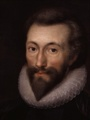 John Donne, after a miniature by Isaac Oliver, c1616